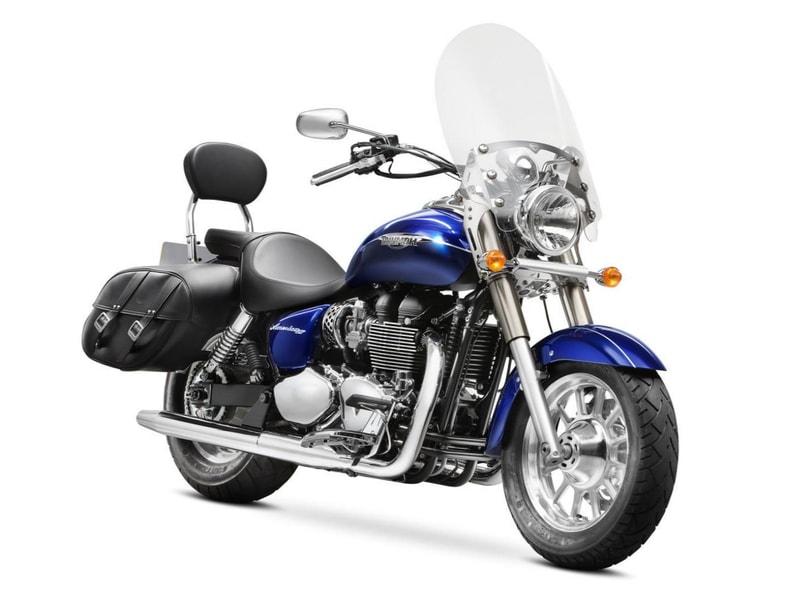 Triumph Bonneville America LT (2014 onwards) motorcycle