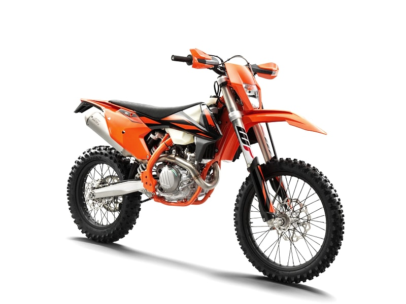KTM 450 EXC (2017 onwards) motorcycle