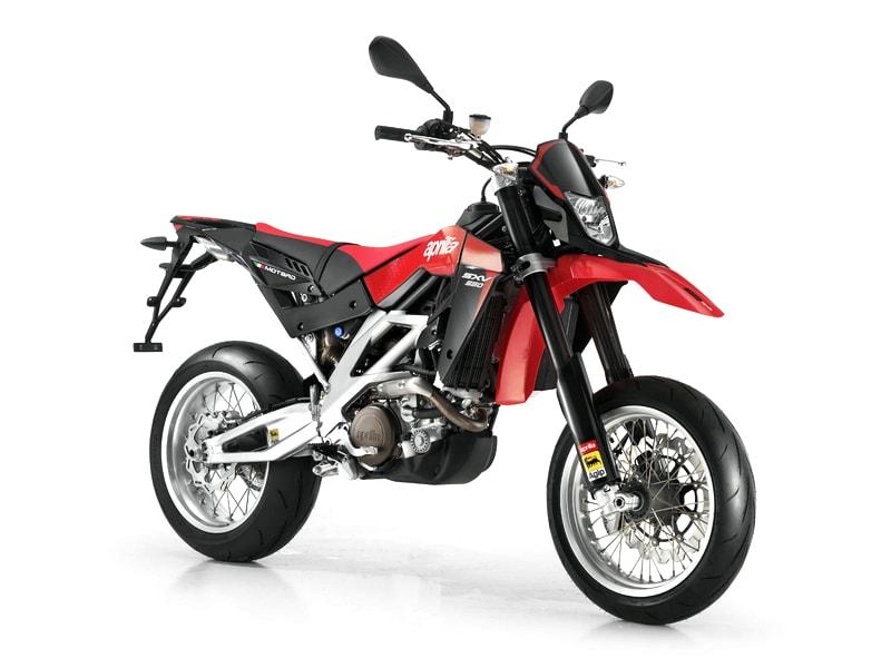 Aprilia SXV 550 (2007 onwards) motorcycle