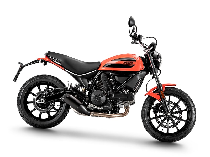 Ducati Scrambler 400 Sixty2 (2016 onwards) motorcycle