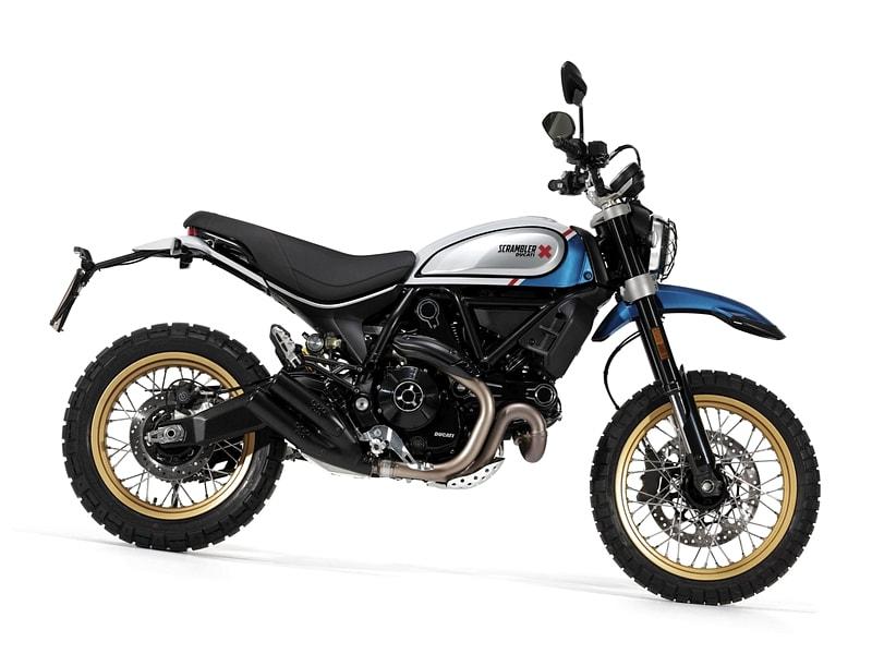 Ducati Scrambler 800 Desert Sled (2017 onwards) motorcycle