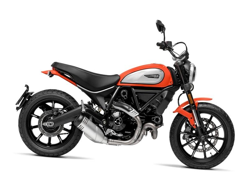 Ducati Scrambler 800 Icon (2019 onwards) motorcycle