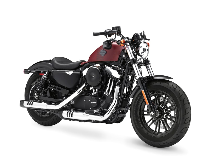 Harley-Davidson XL1200X Forty-Eight (2010 onwards) motorcycle